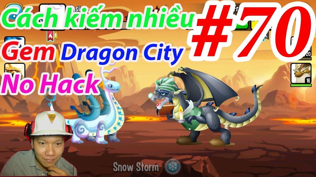 Cách kiếm nhiều Gem Dragon City No Hack  Rồng Mới High Portal Dragon GAME NÔNG TRẠI Rồng#70
