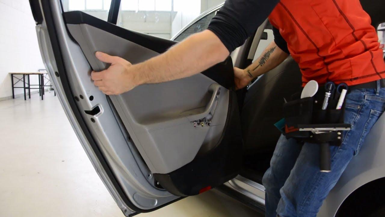 How to remove the door panel Volkswagen Passat B6