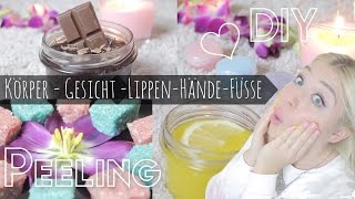 Body & Face PEELINGS / SCRUBS ♥ DIY | BibisBeautyPalace
