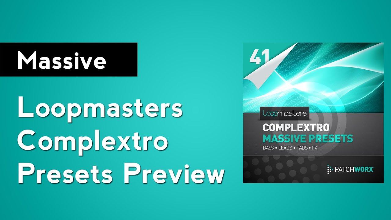 loopmasters complextro