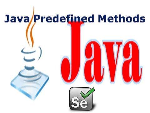 selenium-lesson-15:-java-predefined-methods|java-for-selenium|g-c-reddy|