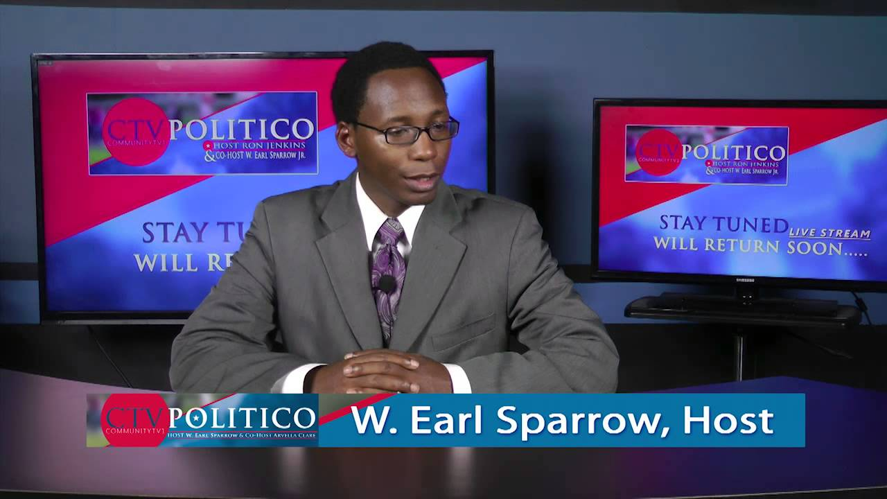 CTV POLITICO - Host Earl Sparrow with Guest Joseph Madison - Community Activist Baltimore - Protests