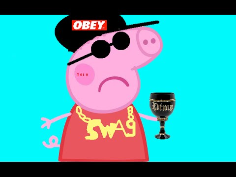 Colors For Kids With SWAG Peppa Pig Coloring Pages Nursery Rhymes Collection