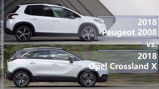 2014 Peugeot 2008 Small Crossover officially revealed Horsepower Specs price release date 2013 suv