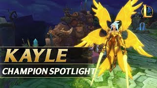 KAYLE REWORK CHAMPION SPOTLIGHT GUIDE - League of Legends