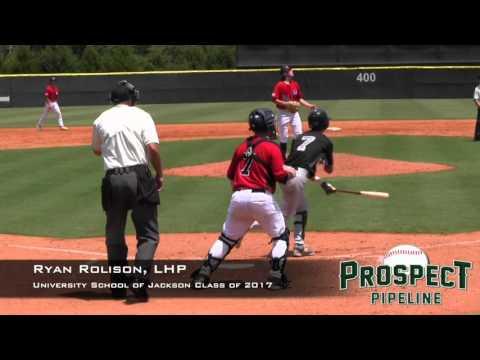 Ryan Rolison Prospect Video, LHP, University School of Jackson, TOS 3