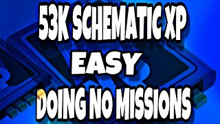 53K SCHEMATIC XP IN 5 MINUTES WITHOUT DOING ANY MISSIONS | FORTNITE SAVE THE WORLD