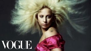 Lady Gaga's September Cover Shoot - Vogue Diaries