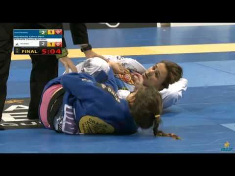 Michelle Nicolini vs Mackenzie Dern worlds 2015