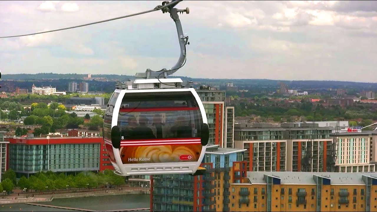 Emirates Air Line - Thames Cable Cars - London Landmarks - High ...
