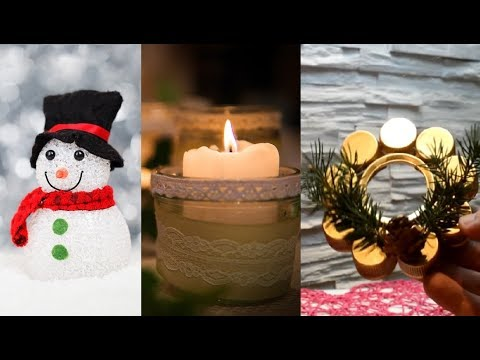 DIY ROOM DECOR! 6 DIY Projects For Christmas & Winter! Decorating Ideas For a Frozen Room