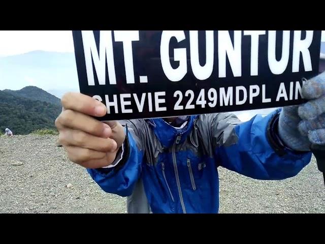 Pendakian Gunung Guntur , Garut, Jawa Barat. 19 - 21 Januari 2018