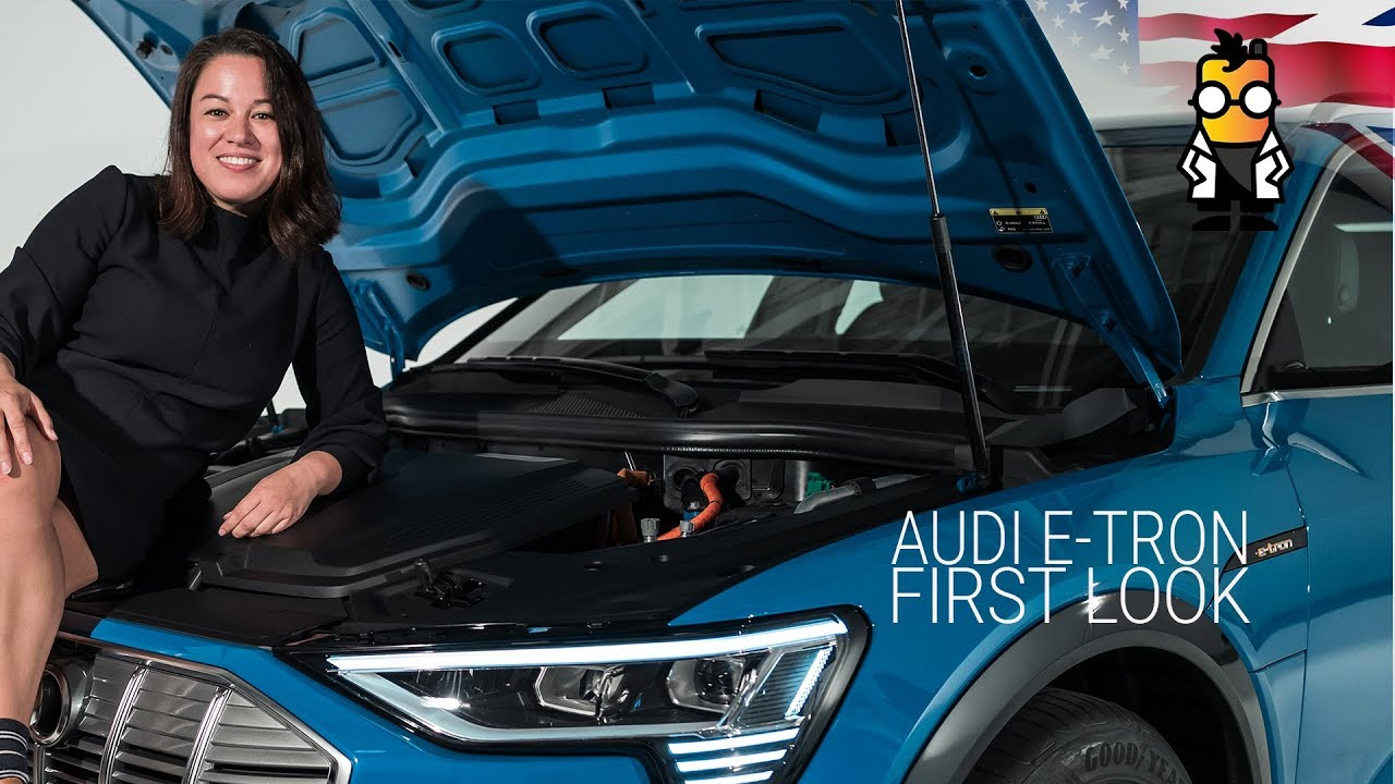AUDI Etron Audi Goes All Electric A First Look YouTube - Audi electric cars