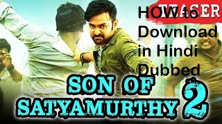 Hyper in hindi Dubbed  Son of Sthyamurthy 2 (2017) How to Download