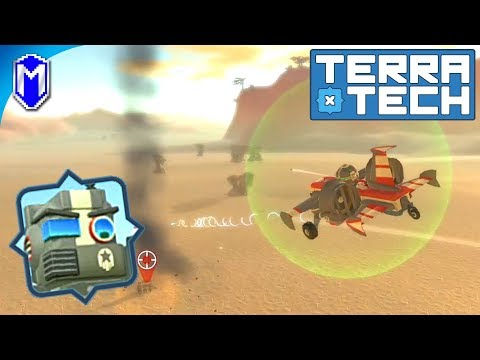 TerraTech - Building A Small Scout Plane - Let's Play/Gameplay 2020