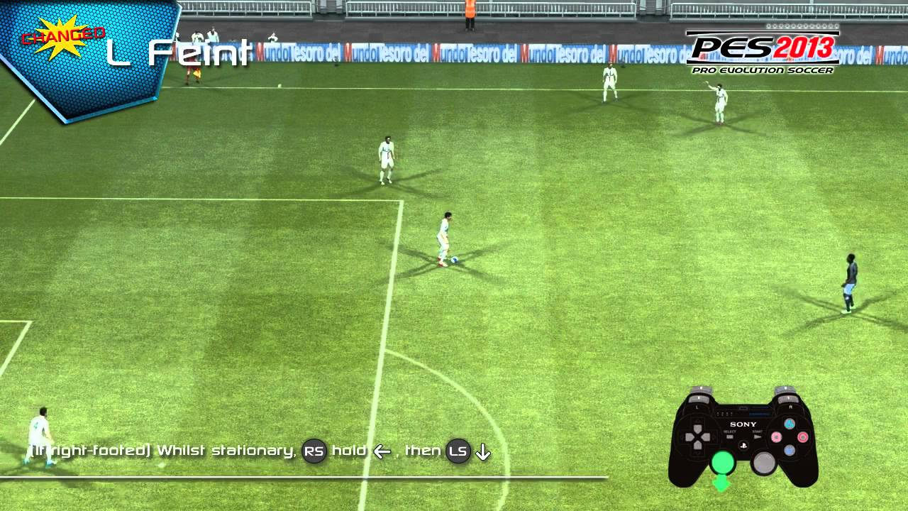 Learn all PES 2013 video skills