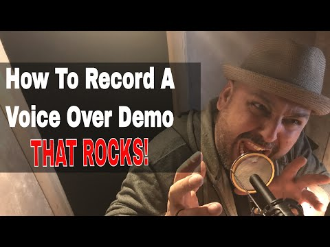 How To Record A Pro Voice Over Demo  JB Blanc  Voiceover Recording  Voice Actor  Acting