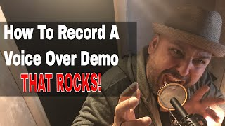 How To Record A Pro Voice Over Demo | JB Blanc | Voiceover Recording | Voice Actor | Acting