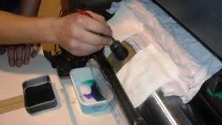Ремонт дозирующего цилиндра лаковой секции(, 2014-03-18T20:05:21.000Z)