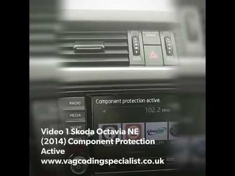 Skoda Octavia NE 2 0 (2014) Component Protection Removal