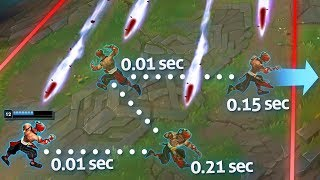 Reacting With PERFECT Reflexes - Instant Reflex Montage - League of Legends