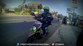 XYI JaDeTaBek Ride to FANT4STIC JOGJA (X-Riders Yamaha Indonesia)