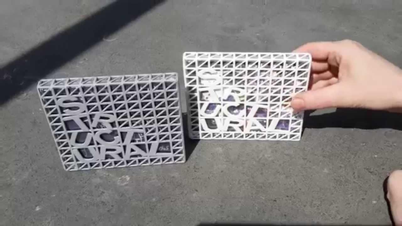 Unboxing / Making of a 3d printed CD Slip case 4 JONTEKNIK - YouTube