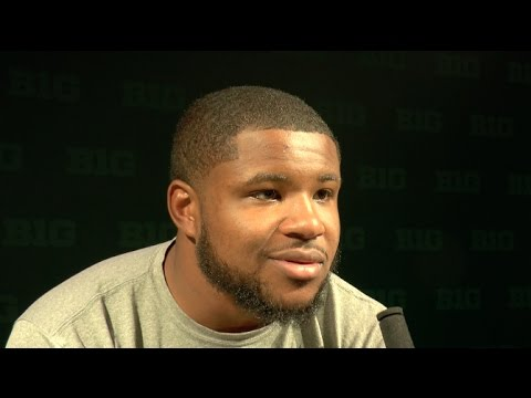 RB Mike Weber speaks after No. 2 Ohio State beats Michigan State 17-16