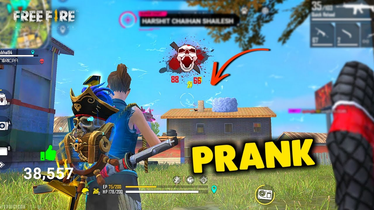 Best 15 Kill Duo Prank With Techi Must Watch Gameplay - Garena Free Fire