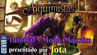 Alquimistas - Tutorial Modo Maestro