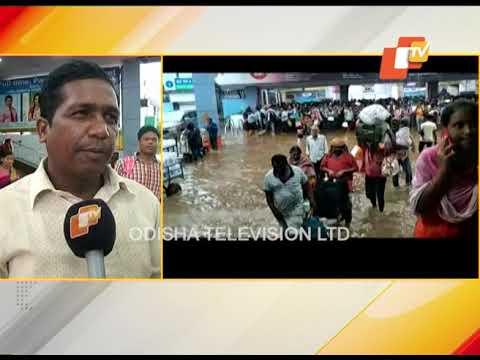 Heavy Rains Lash Twin City, Road & Rail Traffic Affected