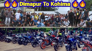 Dimapur To Kohima Ride With Yakuza Bikers / Team Moto Vlog / Dimapur riders / Dimapur Ntorqians