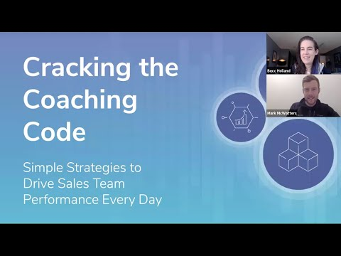 Cracking the Coaching Code [Webinar] (ft. Becc Holland & Mark McWatters)