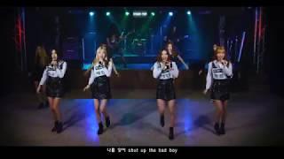 걸그룹 트위티(TWEETY)  - BAD BOY  [가사(Lyrics) & 11인조 안무&합주영상]