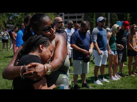 Live look at vigil held for victims of mass shooting in Dayton, Ohio