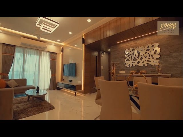Gorgeous 2 Bhk Apartment Interiors By Rajesh Ranka Youtube