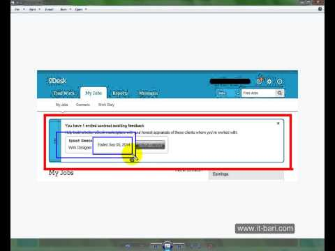 Odesk Bangla Tutorial (Part- 27) What is Feedback/Review and How to Give/Take This