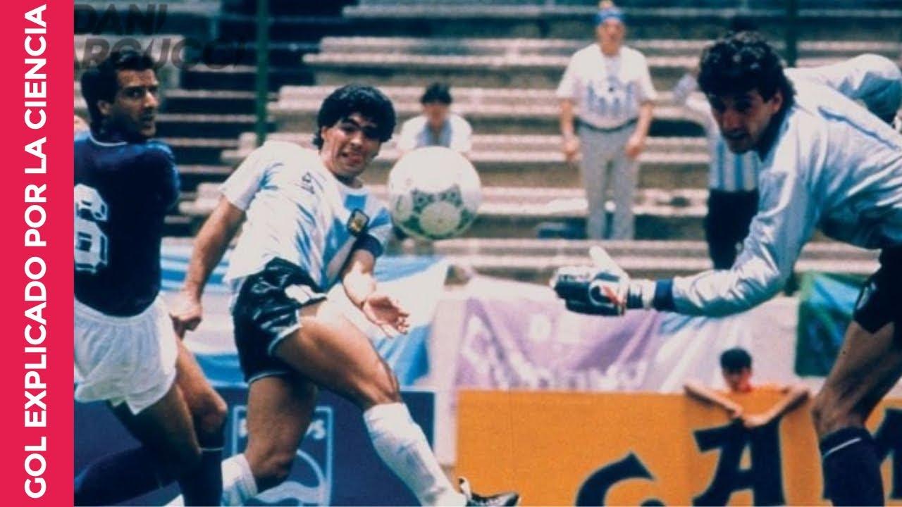 Sorprendente El Gol De Maradona Que Explico La Ciencia Argentina Vs Italia Mexico 1986 Youtube
