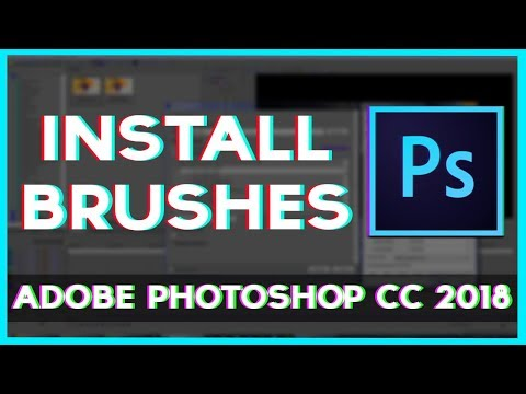Install Brushes On Photoshop CC 2018