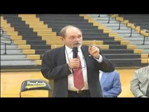 Jim Ayers Makes Special Announcement at Perry County High School