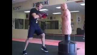видео Bob-Box XL водоналивной боксерский мешок