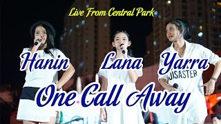 One Call Away Charlie Puth by Hanin Lana dan Yarra at Central Park