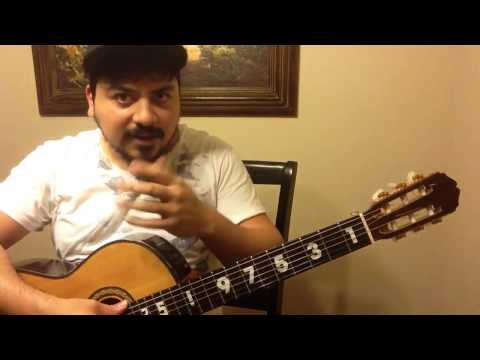 Como tocar Copa Tras Copa  en guitarra requinto acordes – Pedro Infante