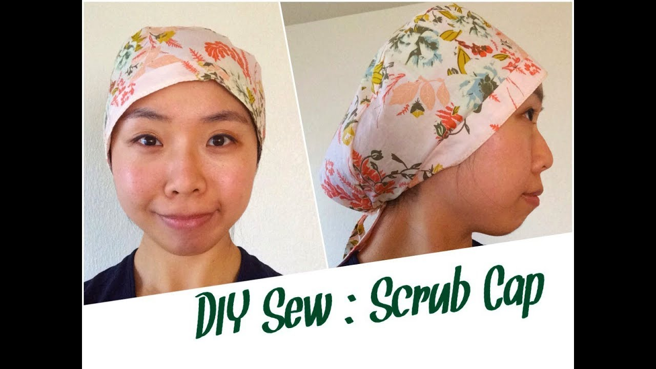 Diy Scrub Cap Sewing Tutorial