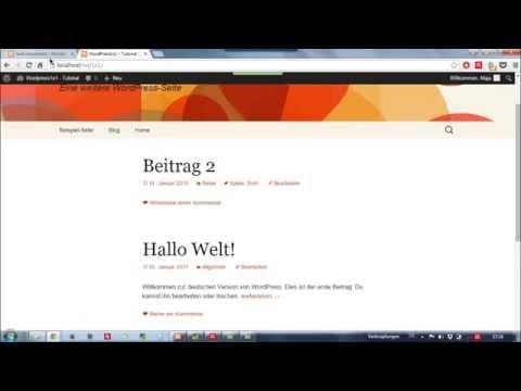 Der Unterschied zwischen Beiträgen und Seiten | WordPress Tutorial