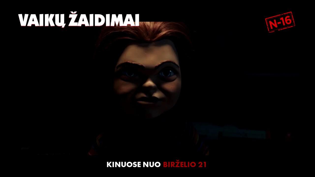 VAIKŲ ŽAIDIMAI - birželio 21 d. į kino teatrus sugrįžta šėtoniška lėlė Čakis