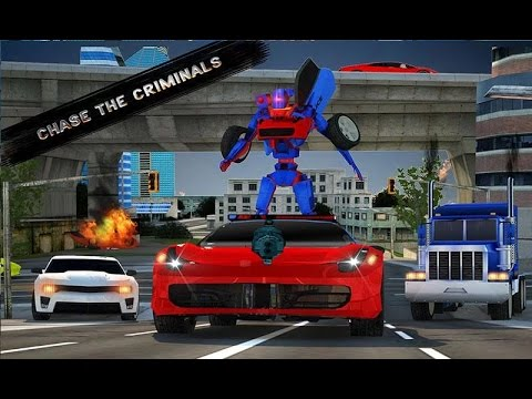 Police Robot Car Simulator By Raydiex 3d Games Master