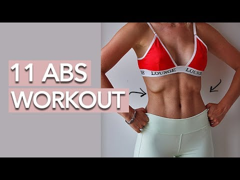 11 Line Abs Workout (No Equipment)