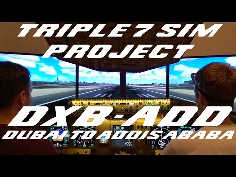 Dubai (OMDB/DUB) to Addis Ababa (HAAB/ADD) - Fan Request!