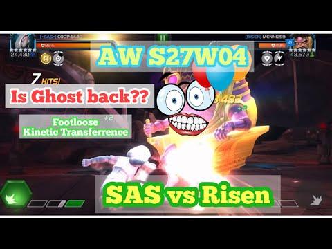 Alliance War S27W04   SAS vs Risen   Is Ghost still rusty?  